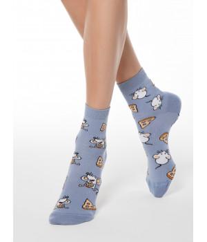 "HAPPY носки женские ""Мышка и сыр"""