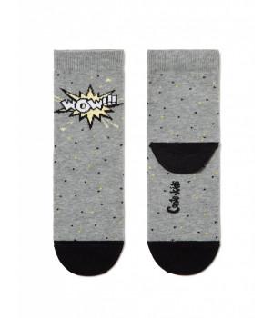 """Хлопковые носки TIP-TOP c рисунком """"WOW"""""""