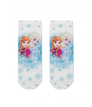 Носки с яркими принтами героев мультфильма ©Disney Frozen 20 модель 301