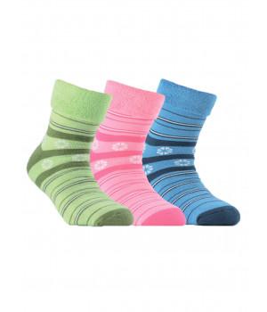 Махровые носки SOF-TIKI с отворотом 6С-19СП модель 043