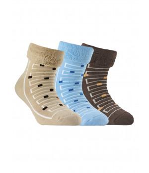 Махровые носки SOF-TIKI с отворотом 6С-19СП модель 046
