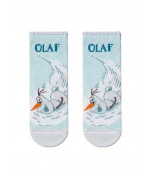 Хлопковые носки с люрексом, стразами 19С-5СПМ ©Disney Frozen модель 427